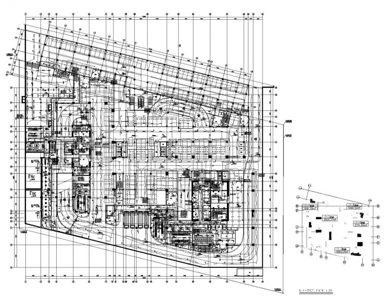[广东]自贸中心超高层商业办公综合体电气全套施工图含负荷计算书