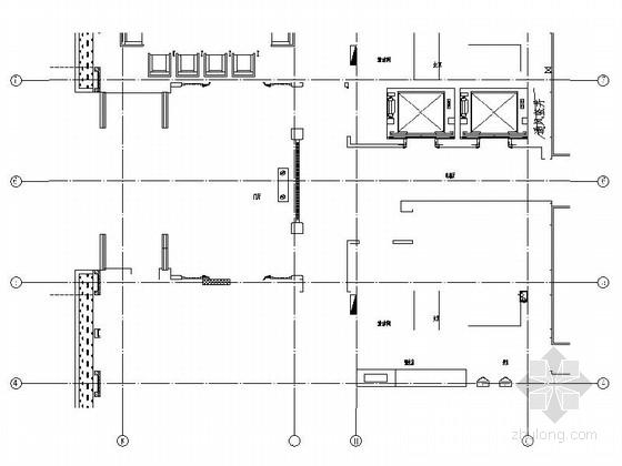[北京]后勤保障机构现代综合楼装修施工图(含效果)
