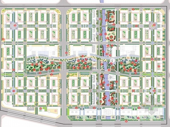 [台州]现代科技商城规划设计方案