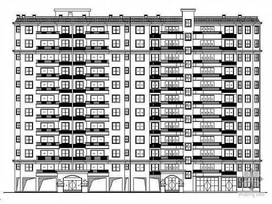 [赣州]某十一层小高层住宅建筑施工图(9号楼)