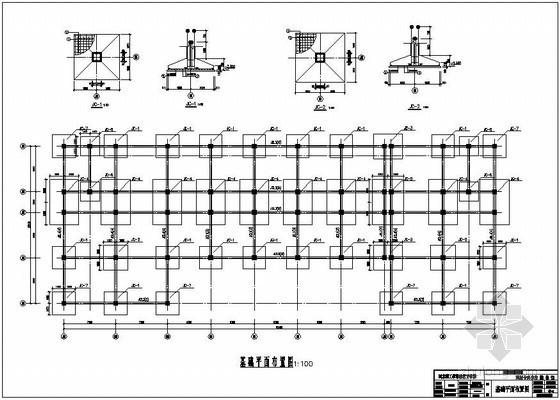 [学士]某图书馆毕业设计(含计算书,建筑、结构图)