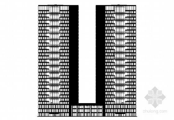 [杭州市钱江新城]某时代广场建筑设计施工图
