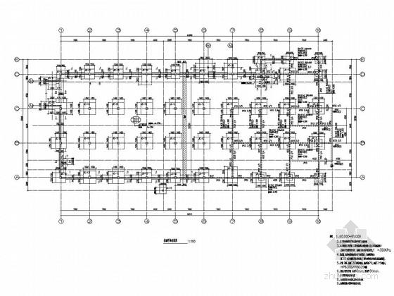 [大连]二层框架结构商业区结构施工图