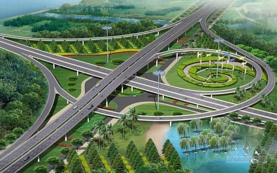 [广东]2014年立交桥建设项目工程量清单报价(全长0.602 公里 含易达清单大师文件)