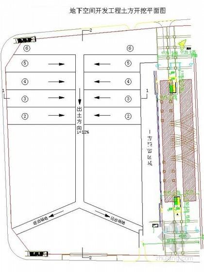 [河南]地下商业广场施工组织设计(明挖法)