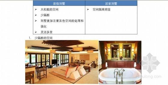 度假别墅的户型设计特点及精装修专项研究报告
