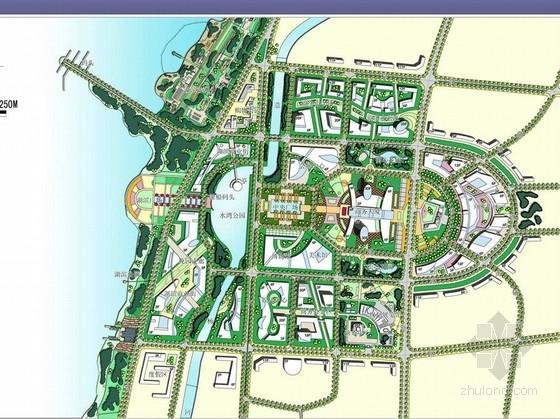 [宿迁]滨水新城总体景观规划设计方案