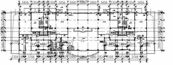 武汉某28层高档住宅给排水施工图.