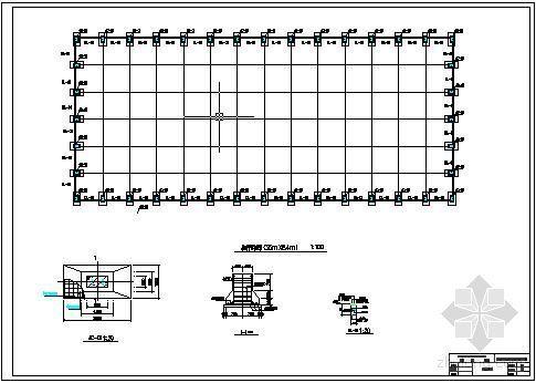 [学士]某门式刚架轻型钢结构装配车间图