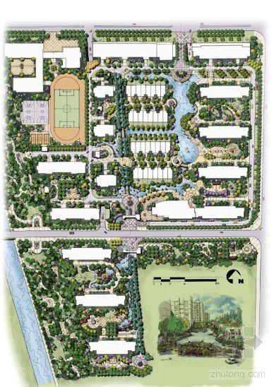 石家庄小区景观设计方案