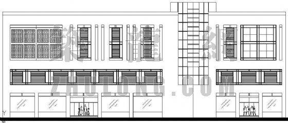 某低层办公楼建筑方案设计图纸