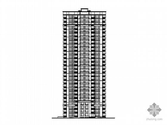 [舟山]某两栋二十八层一梯四住宅楼建筑施工图