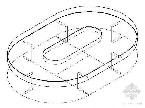 办公家具CAD模型21