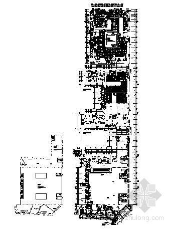 [菏泽]某商场暖通空调施工设计图纸