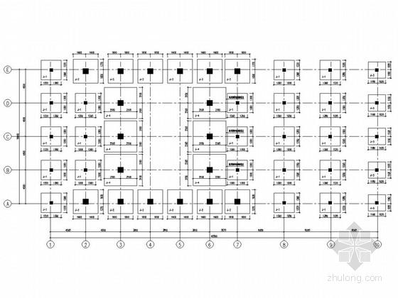 污水处理厂鼓风机房及变配电间、脱水机房、污水提升井结构施工图