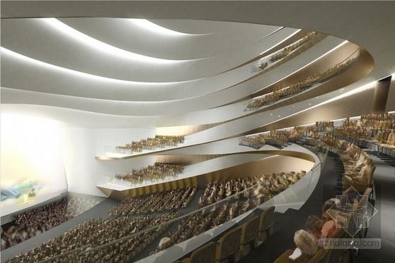 现代风格多层大剧院室内效果图