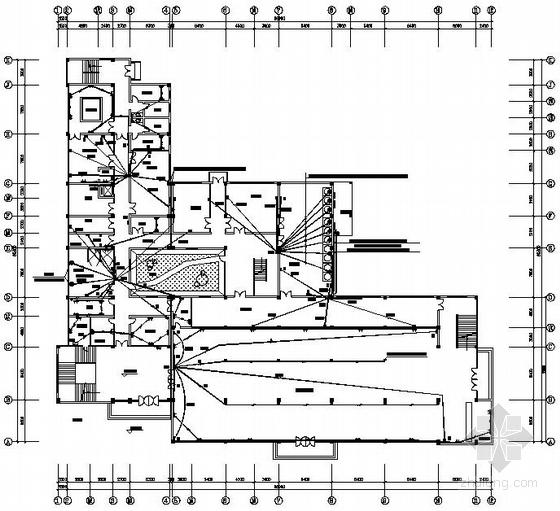 某大学食堂水电施工图