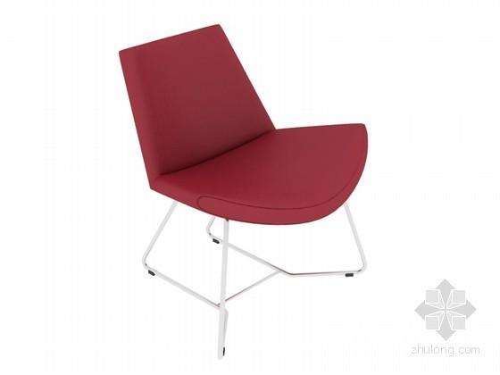 精细椅子3D模型下载