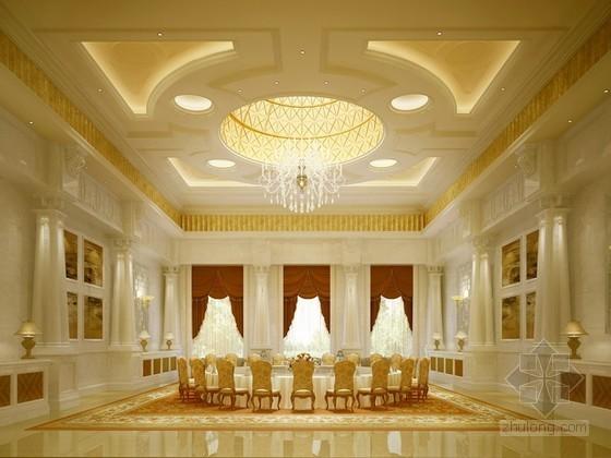 宴会厅3d模型下载