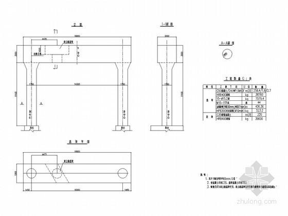 桥梁工程盖梁托换施工方案(55页 附CAD设计图)
