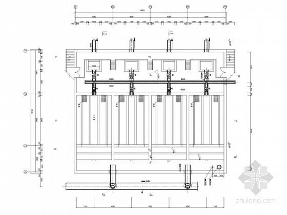 [山西]四万吨污水厂中水回用工艺图纸