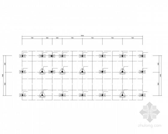 厂区宿舍楼框架结构施工图