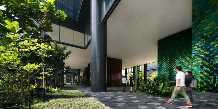 新加坡Comtech商业园区景观-18