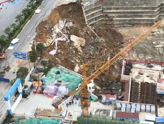 南宁深基坑坍塌事故原因初步确定,设计图纸公布!