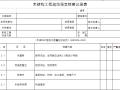 木结构工程规范强文检查记录表