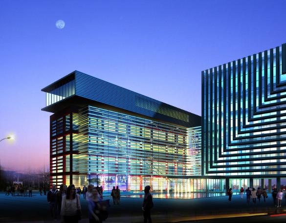 大型综合商场6、7层电气改造施工图纸