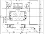 [北京]酒店中餐厅散座区装修施工图