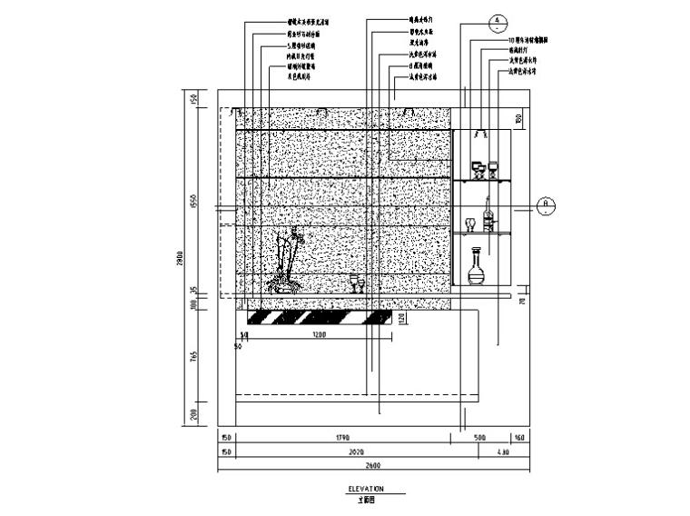 CAD常用图块平面图资料下载-CAD室内设计施工图常用图块之餐厅