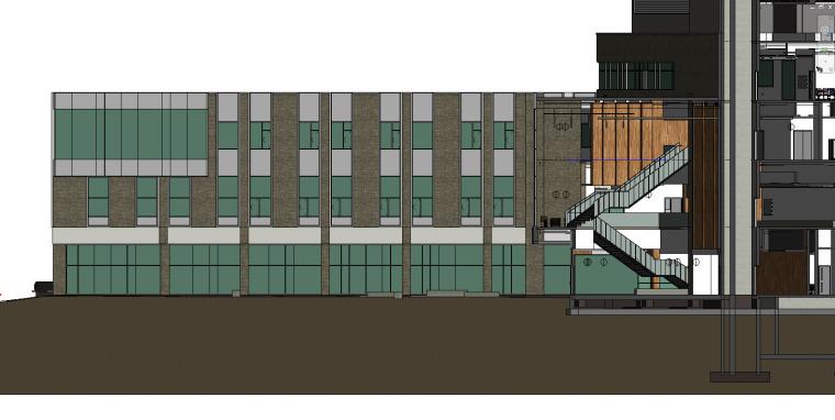 西安大略大学护理学院与信息媒体研究院教学楼-14