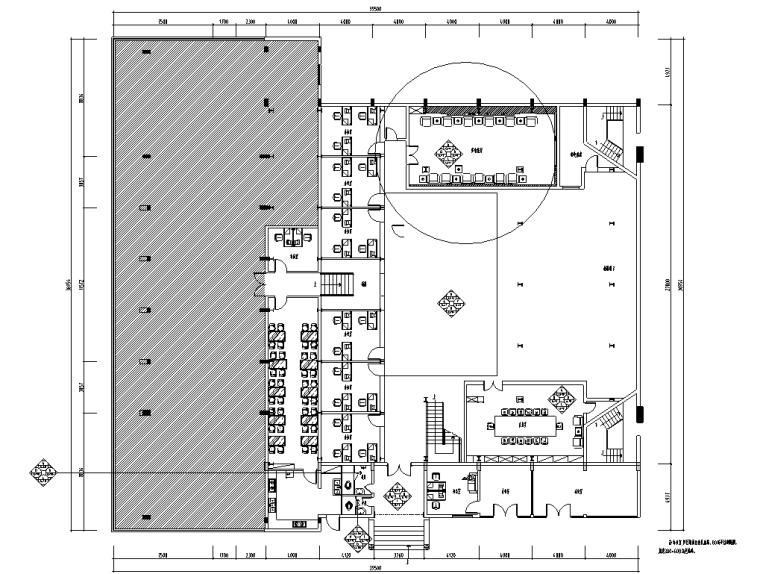 [河南]某办公室整套详细施工图