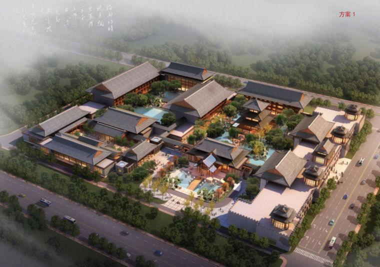 [青海]中式昆仑酒店建筑设计方案文本