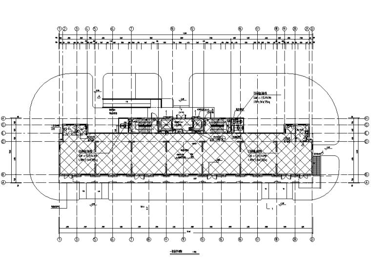 青岛大型住宅区暖通设计施工图