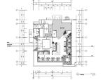 [福建]某中餐厅室内装修施工图及效果图