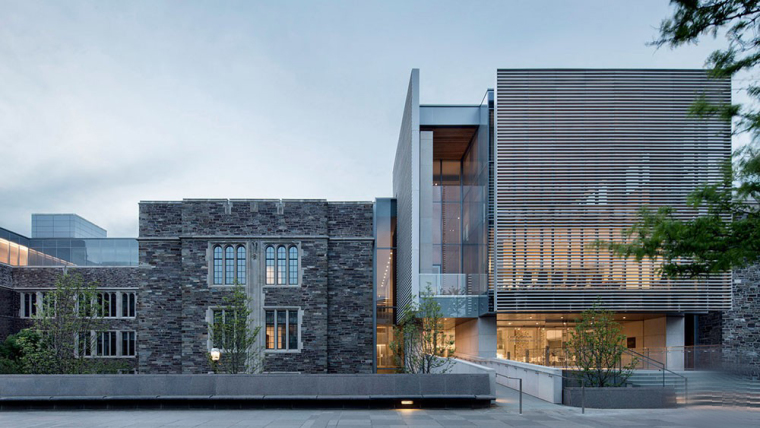 哥特式学术建筑普林斯顿大学校园外部实景图 (2)