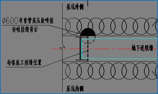 地下连续墙基坑支护施工实例_14