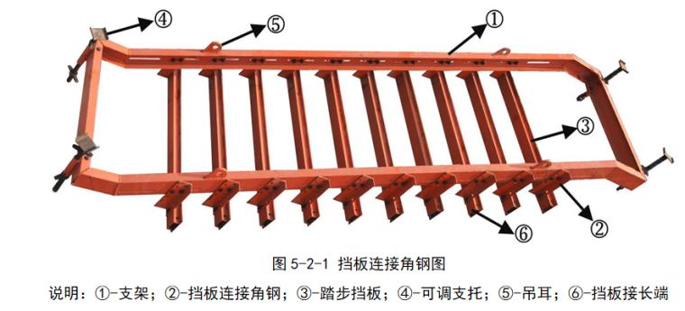 新型工具式可调节楼梯钢模板施工技术_2