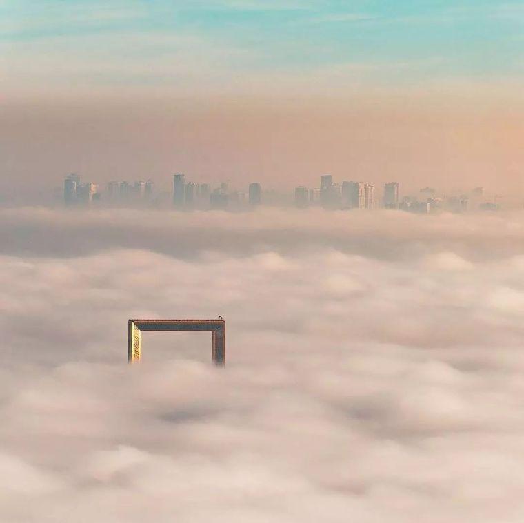 2018年迪拜用3个亿造了个冲破天际的相框