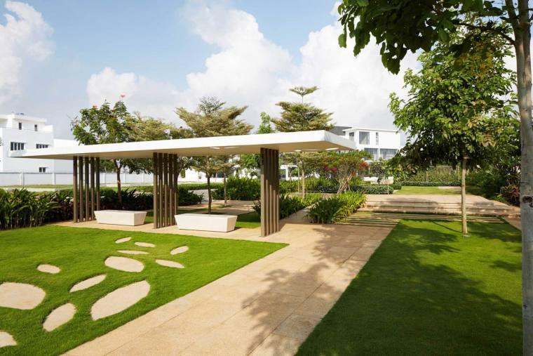越南Saigon别墅区景观