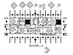 【浙江】某新中式酒店餐厅设计施工图(含效果图)