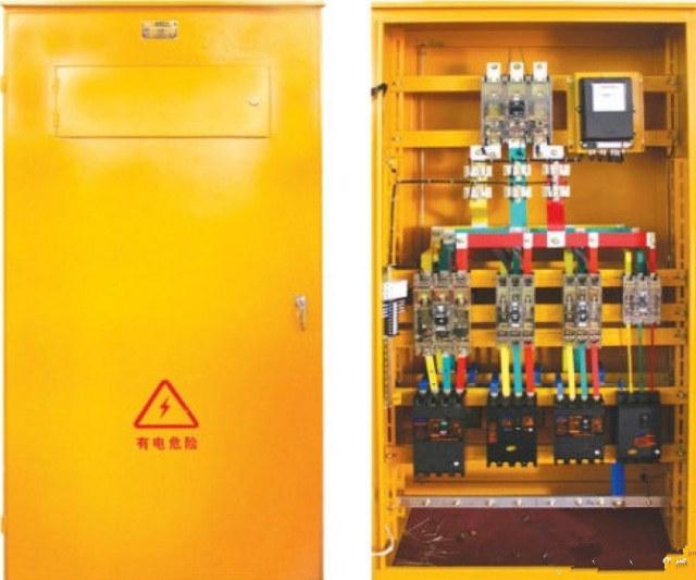 [施工用电]三级配电、 二级漏电保护、一机一闸、一漏一箱