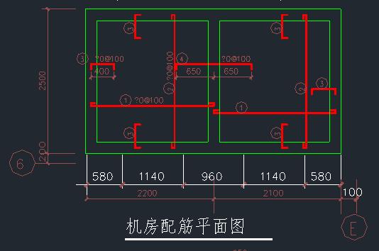 电梯井道结构施工图_2
