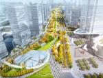 """[湖北]""""海绵城市""""生态智能体验式商业街区景观设计方案(上、中、下篇3个文本)"""