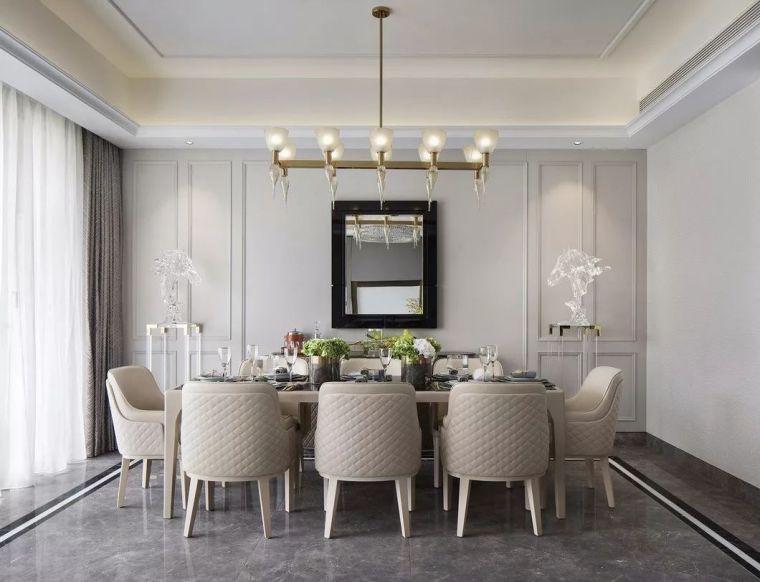 240㎡珍稀优雅豪宅软装设计,创造引领新都市的优质生活空间!_7
