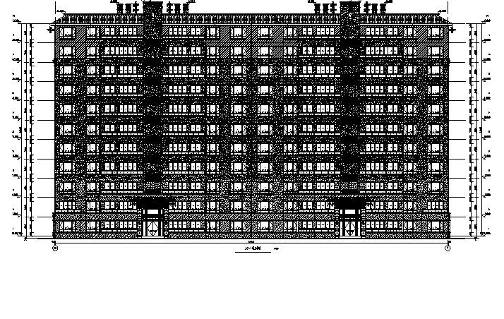 [重庆]高层别墅住宅及商业建筑施工图(17年最新及多栋楼图纸)