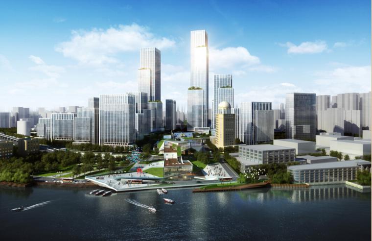 [上海]超高层城市总体商业概念规划方案文本(含3套及施工图)
