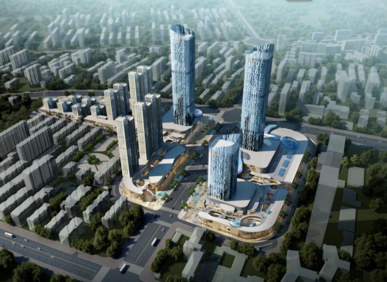 [河南]地标性超高层写字楼SOHO公寓及商业综合体方案(含CAD)_3